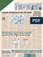 Chennai Based OrangeScape Bursts Into Cloud - DNA Bangalore - Chiti Pantalu