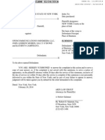 Complaint - Jackson v. Open Communications
