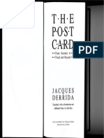 Jacques Derrida the Postcard