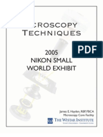 Técnicas de Microscopia