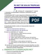 Classificação MCT