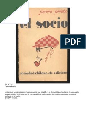 DESCARGAR LIBRO EL SOCIO JENARO PRIETO PDF