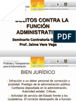 Delitos Contra La Administración - Jaime Vera