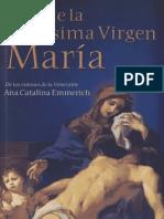 Vida de La Santísima Virgen María