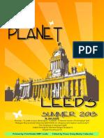 One Planet Leeds Summer 2013