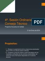 4a Sesion Ordinaria CT