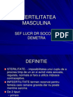 INFERTILITATEA MASCULINA