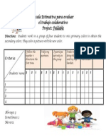 escala estimativa para foldables
