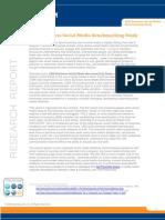 2009 Business Social Media Benchmarking Study