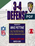 Ravens 50 Defense
