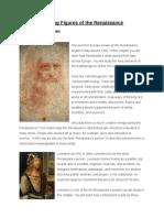 leading figures of the renaissance text