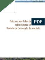 ICMBIO 2012 Protocolos Para Coleta de Dados PRIMATAS AMAZÔNIA