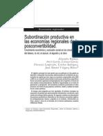 Rofman Economias Regionales Posconvertibilidad