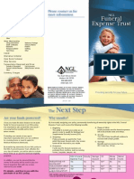 funeral expense trust brochure