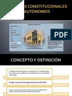 ÒRGANOS CONSTITUCIONALES AUTÒNOMOS2
