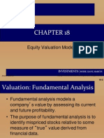 Chap 22 Equity Valuation Models