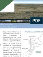 Trabajo Provincia de Huancayo