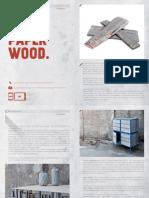 News Paper Wood