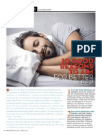 """10 GOOD REASONS TO AIM FOR BETTER SLEEP"""