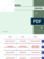 Catálogo de peças CBX200S