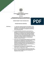 UU No. 18 Th 2002 DanPenjelasannya