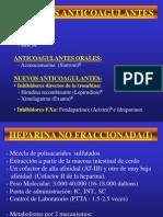 Anticoagulantes Tema 10