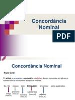 Concordância Nominal - Slides.