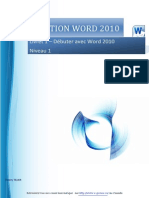 Word 2010 Initiation