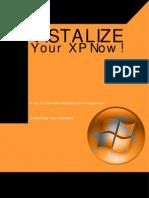 VISTALIZE Your XP Now!