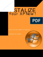 VISTALIZE Your XP Now!