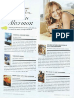 Books That Made A Difference to Malin Akerman - O Magazine, March 2012