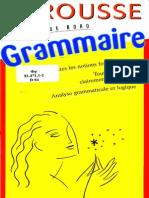 Larousse Grammaire Livres de Bord