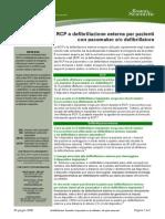 Defibrillazione Esterna Per Pazienti