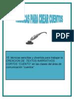 Tecnicas Para Producir Textos Creativos