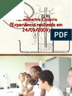 Termômetro Caseiro