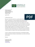 franco letter of recommendation