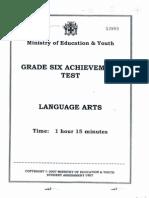 Language Arts 2007