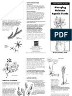 Managing Nuisance Aquatic Plants