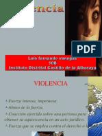 Violencia, Bullying ,Matoneo LUIS VANEGAS(1)