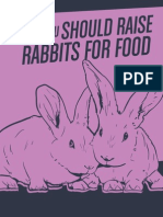 Why You Should Raise Rabbits for Food