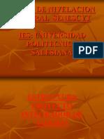 Estructura Proyecto Integrador de Saberes