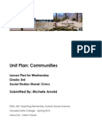 Edel453 Spring2014 MicheleArnold Unit Plan Wednesday