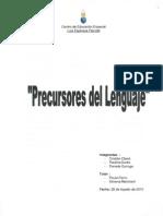 Precursores Del Lenguaje