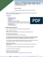 Howto Implementclientlesssinglesignonauthenticationinmultipleactivedirectorydomain 120501101050 Phpapp02