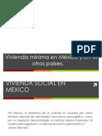 Vivienda Minima Mexico