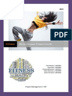 Project management- Opening a fitness centre