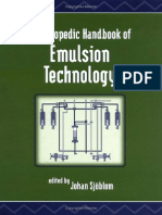 Sjoblom, J. - Handbook of Emulsion Technology.pdf