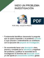 PLANTEANDO UN PROBLEMA DE INVESTIGACIÓN
