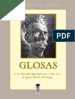 """Glosas a las """"Florecillas Espirituales para el Mes de..."""", de Ignacio Braulio Anzoátegui"""