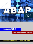 Sap Abap - A Step-By-step Guide - Learn Sap